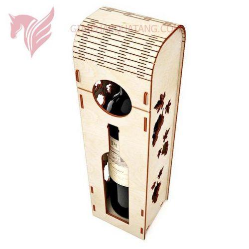 hộp gỗ đựng rượu mdf ms02